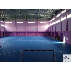 Professional futsal court flooring SPU rubber self leveling material
