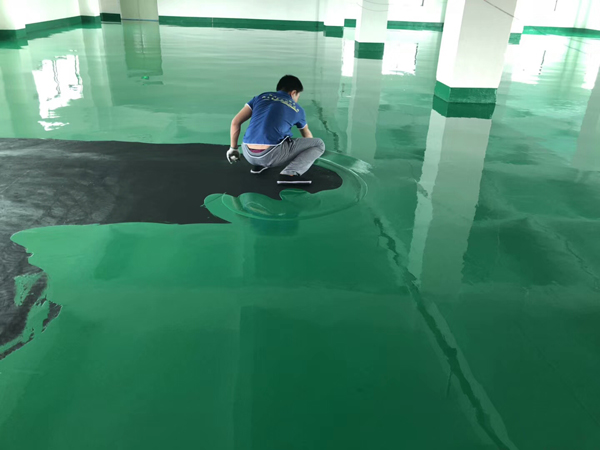 Two component Phenol Resin Anti-static Epoxy Floor coating